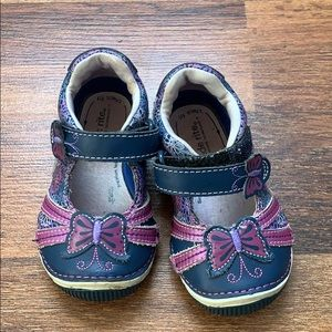 Stride Rite Butterfly Shoes